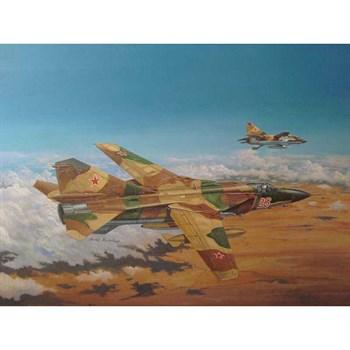Самолет  Советский МиГ-23МЛ Flogger-C (1:48)
