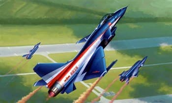 Купите Самолёт  J-10AY пилотажная группа Ba Yi (1:48) в интернет-магазине «Лавка Орка». Доставка по РФ от 3 дней.