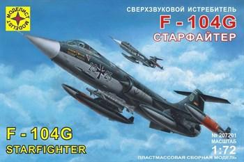 """Купите Сверхзвуковой истребитель F-104G """"Старфайтер"""" (1:72) в интернет-магазине «Лавка Орка». Доставка по РФ от 3 дней."""
