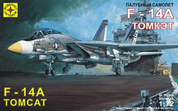 """Купите Палубный самолет F-14A """"Томкэт"""" (1:72) в интернет-магазине «Лавка Орка». Доставка по РФ от 3 дней."""