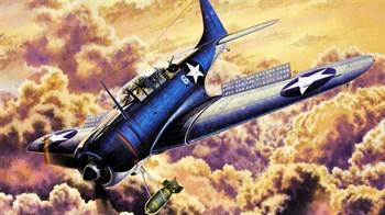 "Купите Самолет USN SBD-2 ""Midway"" в интернет-магазине «Лавка Орка». Доставка по РФ от 3 дней."