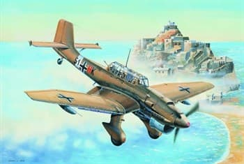 Купите Самолёт  Junkers Ju-87R Stuka (1:32) в интернет-магазине «Лавка Орка». Доставка по РФ от 3 дней.