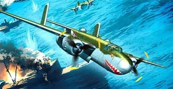 """Купите Самолет  B-25G """"Shark Mouth"""" (1:48) в интернет-магазине «Лавка Орка». Доставка по РФ от 3 дней."""