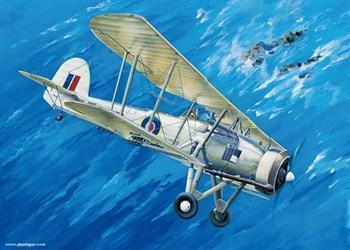 """Купите Самолет  Фейри """"Суордфиш"""" Mk.II (1:32) в интернет-магазине «Лавка Орка». Доставка по РФ от 3 дней."""