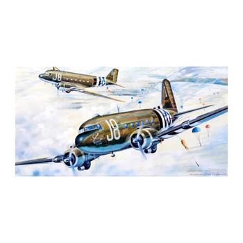 "Купите Самолет  C-47A ""Скайтрейн"" (1:48) в интернет-магазине «Лавка Орка». Доставка по РФ от 3 дней."
