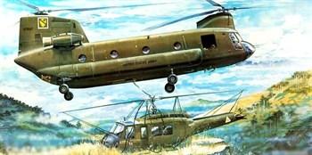 """Купите Вертолет  СН-47А """"Чинук"""" (1:35) в интернет-магазине «Лавка Орка». Доставка по РФ от 3 дней."""