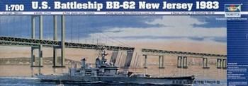 """Купите Линкор ВВ-62 """"Нью Джерси"""" 1983 г. (1:700) в интернет-магазине «Лавка Орка». Доставка по РФ от 3 дней."""
