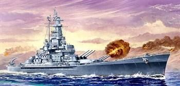"Купите  Линкор BB-59 ""Массачусеттс"" (1:700) в интернет-магазине «Лавка Орка». Доставка по РФ от 3 дней."