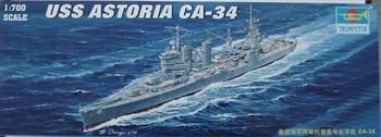 """Купите  Крейсер  СА-34 """"Астория"""" 1942 г. (1:700) в интернет-магазине «Лавка Орка». Доставка по РФ от 3 дней."""