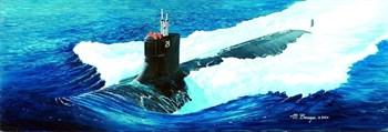 """Купите  Подводная лодка  SSN-21 """"Си Вулф"""" (1:144) в интернет-магазине «Лавка Орка». Доставка по РФ от 3 дней."""