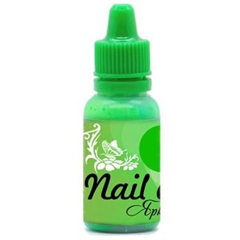 Фото 1 Краска для ногтей Nail Art — Яркий зелёный 15мл