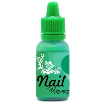 Фото 1 Краска для ногтей Nail Art — Изумрудный зелёный 15мл