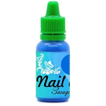 Фото 1 Краска для ногтей Nail Art — Загадочный синий 15мл
