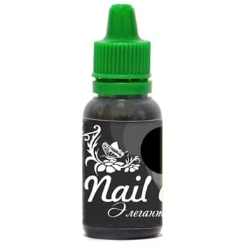 Фото 1 Краска для ногтей Nail Art — Элегантный чёрный 15мл