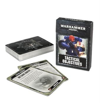 Warhammer40k: Tactical Objective Cards (eng)