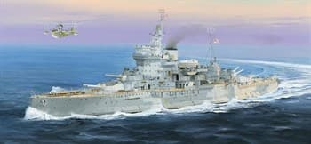"""Купите Корабль  линкор HMS Warspite  (1:350) в интернет-магазине """"Лавка Орка"""". Доставка по РФ от 3 дней."""