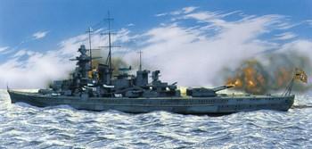 """Купите Корабль  """"Gleisenau"""" (1:400) в интернет-магазине """"Лавка Орка"""". Доставка по РФ от 3 дней."""