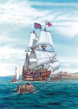 Купите Корабль  Майфлауэр (1:100) в интернет-магазине «Лавка Орка». Доставка по РФ от 3 дней.