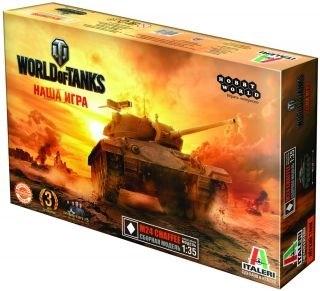 World of Tanks. M24 CHAFFEE. Масштабная модель 1:35 (Italeri)