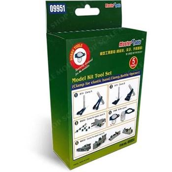 Аксессуары  набор инструментов (Model Kit Tool Set (Clamp for elastic band,Clamp)