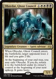 Obzedat, Ghost Council Англ.