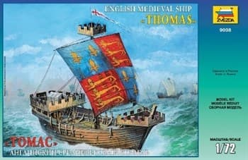 Купите Томас Английский средневековый корабль в интернет-магазине «Лавка Орка». Доставка по РФ от 3 дней.