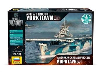 Купите Американский авианосец Йорктаун  в интернет-магазине «Лавка Орка». Доставка по РФ от 3 дней.