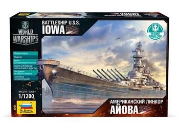 Купите Американский линкор Айова в интернет-магазине «Лавка Орка». Доставка по РФ от 3 дней.