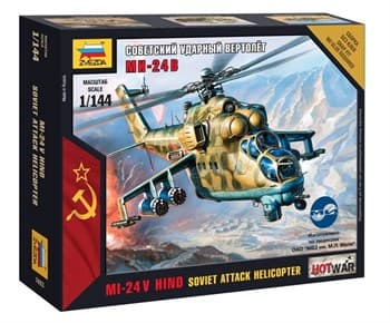 Купите Советский ударный вертолёт Ми-24В в интернет-магазине «Лавка Орка». Доставка по РФ от 3 дней.