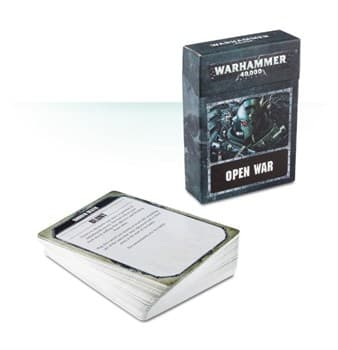 WARHAMMER 40000: OPEN WAR CARDS (ENG)