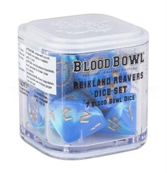 Blood Bowl Reikland Reavers Dice Set