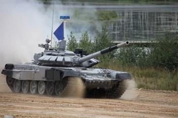 Российский танк Т-72Б3М   (1:35)