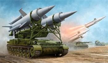 """Российский зенитно-ракетный комплекс 2К11А """"Круг-А""""   (1:35)"""