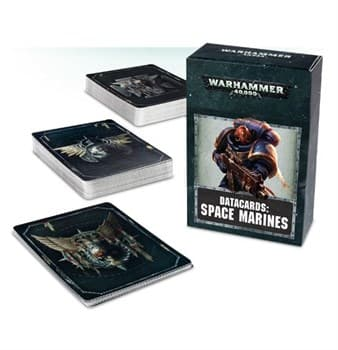 DATACARDS: SPACE MARINE (ENG)