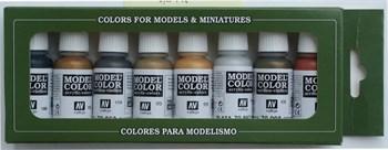 Купите Model Color Metallic Colors (8) 17 мл. в интернет-магазине «Лавка Орка». Доставка по РФ от 3 дней.