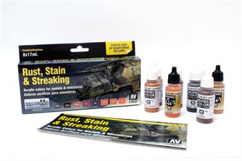 Купите Model Color Rust, Stain & Streaking (8) by Scratchmod 17 мл.  в интернет-магазине «Лавка Орка». Доставка по РФ от 3 дней.