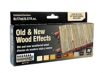 Купите Model Air Old And New Wood Effects (8) by Scratchmod 17 мл. в интернет-магазине «Лавка Орка». Доставка по РФ от 3 дней.