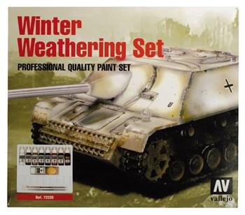 Купите  Model Color Winter Weathering (9) + 2 Brushes 17 мл. в интернет-магазине «Лавка Орка». Доставка по РФ от 3 дней.