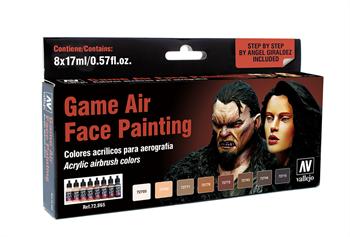 Купите  Краску  Game Air Face Painting (8) by Angel Giraldez 17мл. в интернет-магазине «Лавка Орка». Доставка по РФ от 3 дней.
