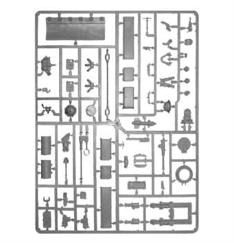ASTRA MILITARUM TANK ACCESSORIES