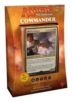 Commander 2017: пятицветная Draconic Domination (5 Colors) английский (eng)