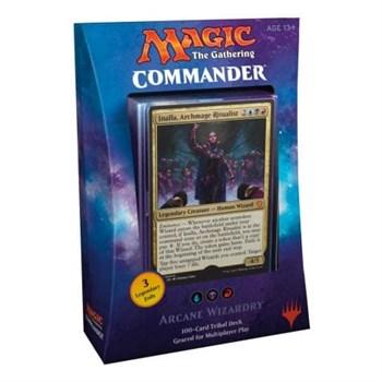 Commander 2017: трёхцветная Arcane Wizardry (ubr) английский (eng)