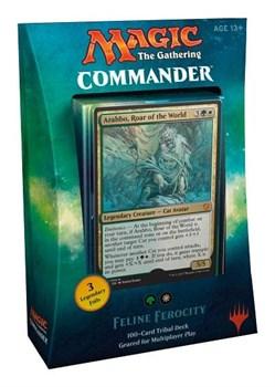 Commander 2017: двухцветный Feline Ferocity (wg) английский (eng)