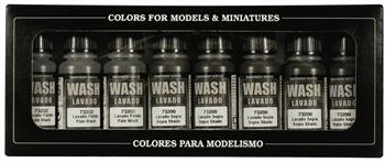 Купите краски Game Color Washes (8) 17 мл. в интернет-магазине «Лавка Орка». Доставка по РФ от 3 дней.