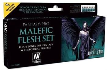 Купите краску Malefic Flesh Set (8) 17 мл. в интернет-магазине «Лавка Орка». Доставка по РФ от 3 дней.