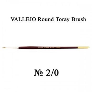 Купите кисть Round Toray Brush Triangular Handle No.2/0 в интернет-магазине «Лавка Орка». Доставка по РФ от 3 дней.