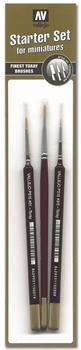 Купите набор кистей Starter Set (3 Pcs.)Round No.S 1 Y 3/0-Flat No.4 в интернет-магазине «Лавка Орка». Доставка по РФ от 3 дней.