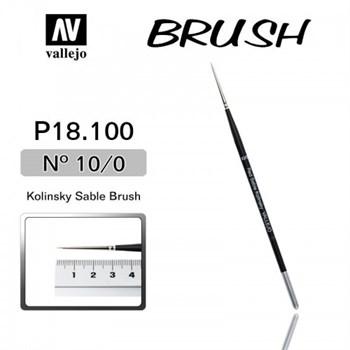 Купите кисть Kolinsky Sable Brush No.10/0 в интернет-магазине «Лавка Орка». Доставка по РФ от 3 дней.