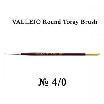 Купите кисть Round Toray Brush No.4 в интернет-магазине «Лавка Орка». Доставка по РФ от 3 дней.