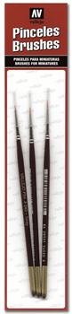 Купите кисть Toray Detail Set (Sizes 4/0, 3/0 & 2/0) в интернет-магазине «Лавка Орка». Доставка по РФ от 3 дней.